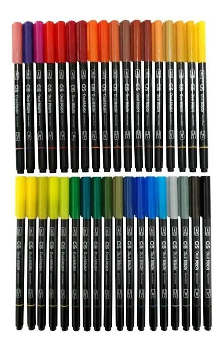 Marcador Artístico Dual Brush - CIS