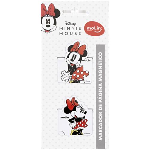 Marcador de Página Magnético Minnie Cx c/ 02 Unid. - Molin