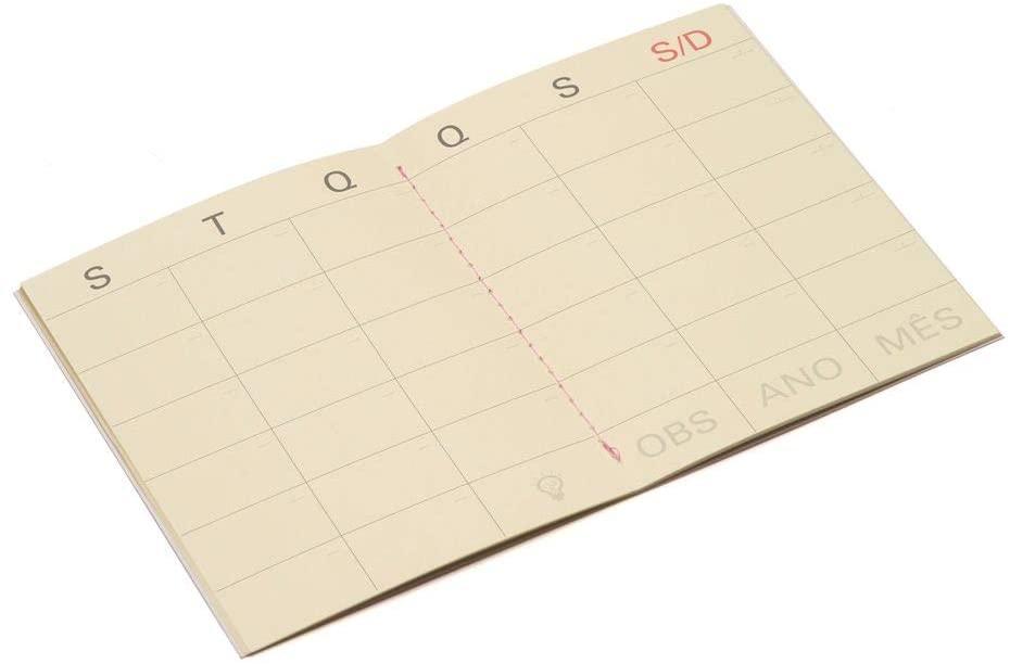 Mini Planner Mensal - Cícero