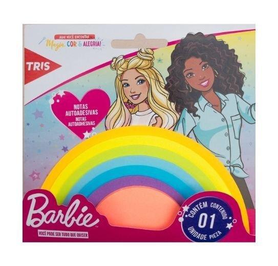 Nota Autoadesiva Barbie Rainbow - Tris