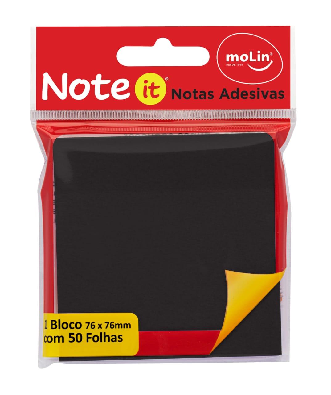Notas Adesivas Pretas - Molin
