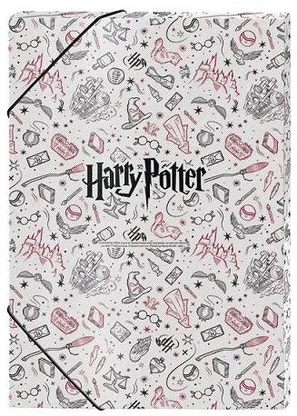 Pasta Aba Elástica Ofício 3cm Harry Potter - DAC