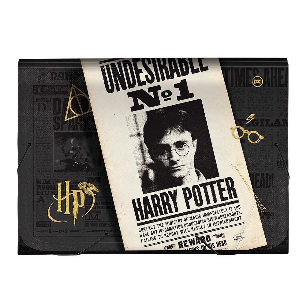 Pasta Sanfonada Harry Potter - A4 - DAC