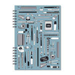 Planner Compacto Mensal Linha Office -  Fina Ideia
