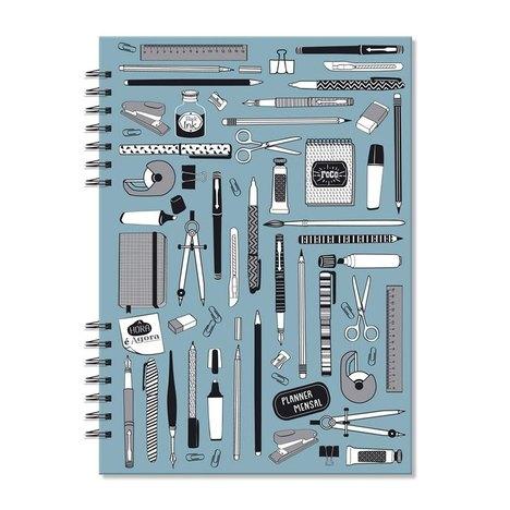 Planner Compacto Mensal - Fina Ideia