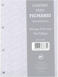 Refil Fichário Cinza - DAC