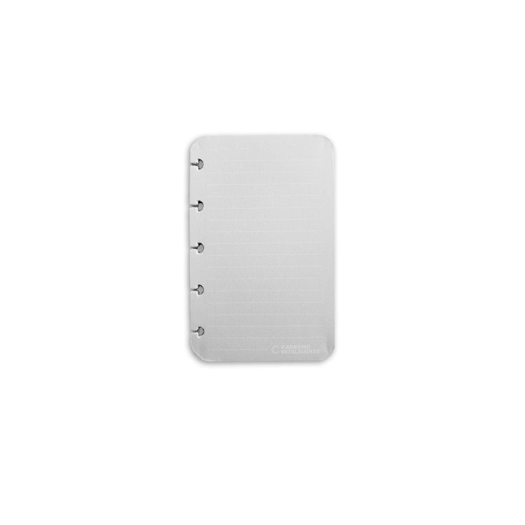 Refil Pautado Linha Branca Inteligine 120g - Caderno Inteligente