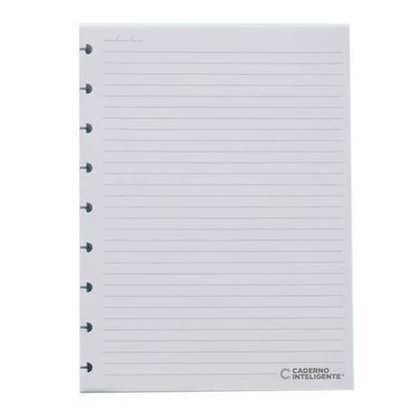 Refil Pautado - Medio 90g - Caderno Inteligente