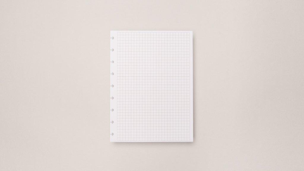 Refil Quadriculado - Caderno Inteligente