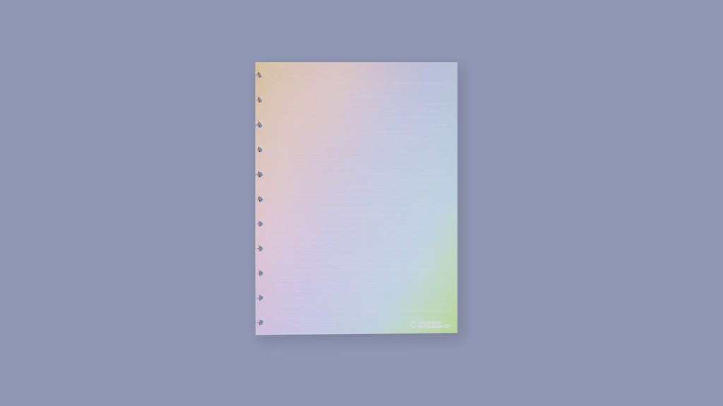 Refil Rainbow - A5