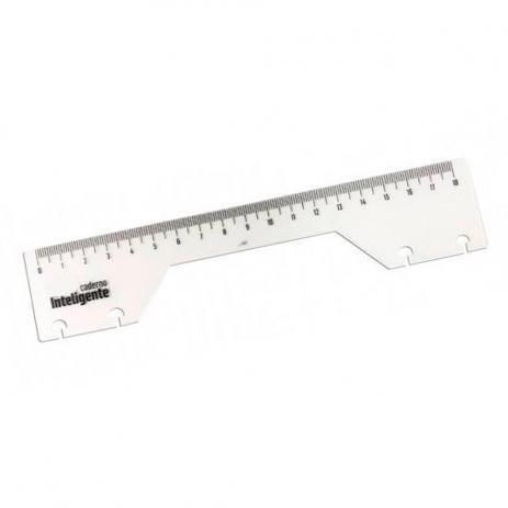 Régua 18cm - Caderno Inteligente