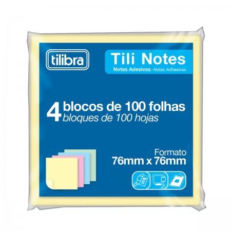 Tili Notes Pastel 76x76mm - Tilibra