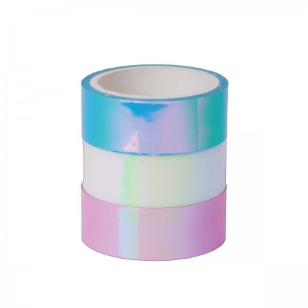 Washi Tape Holográfica - 03 un - Tilibra