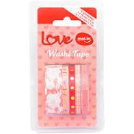 Washi tape love Molin - Kit com 5