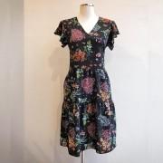 Vestido Floral Babado 5 Marias