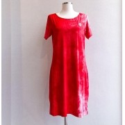 Vestido Tie Dye Red