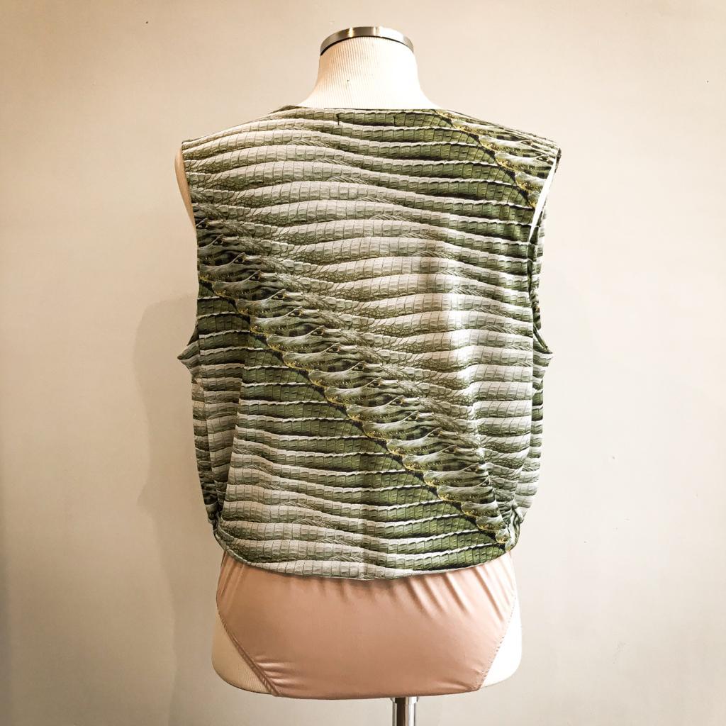 Blusa Body Verde 5 Marias