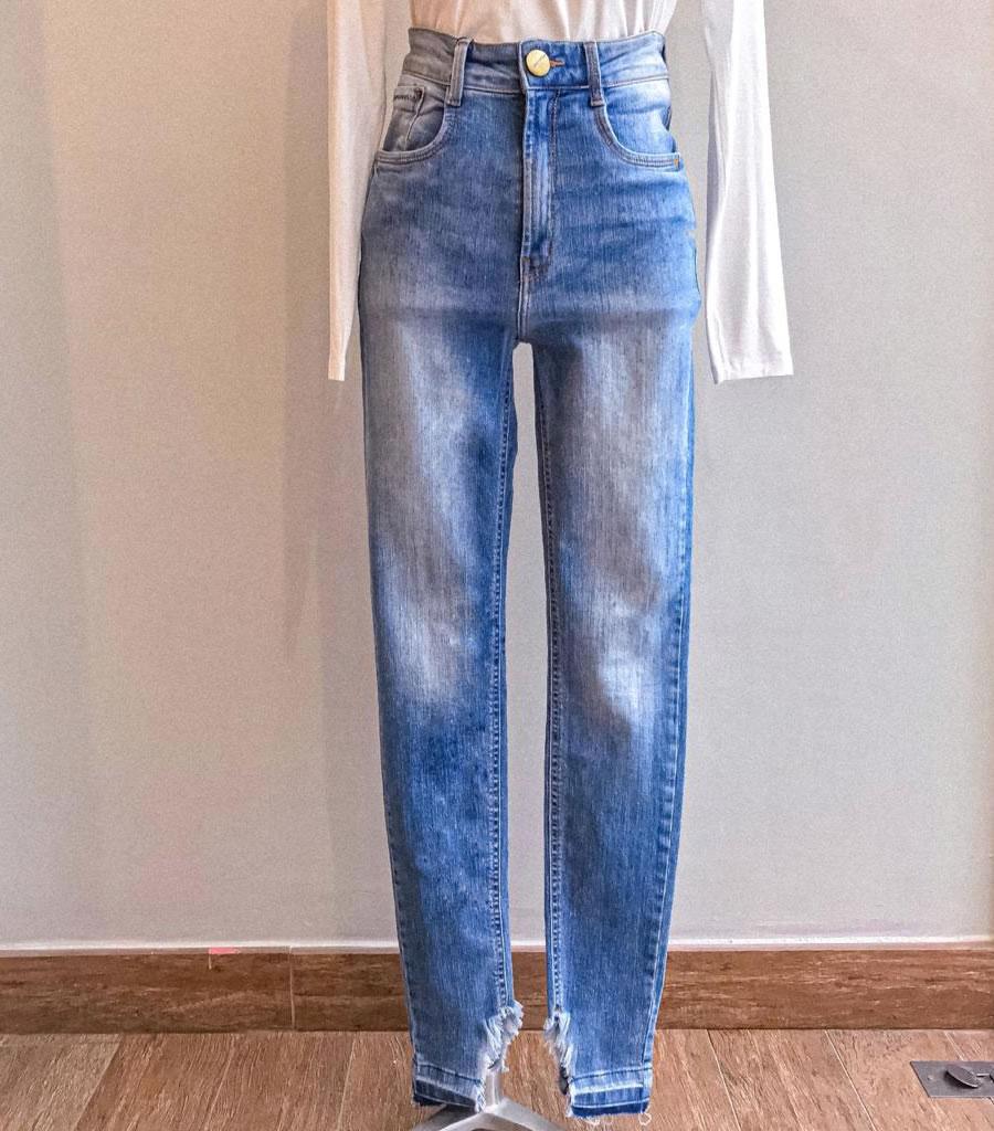 Calça jeans claro Lança Perfume