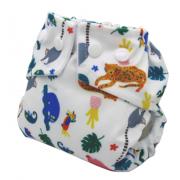 Fralda Ecológica Pequenitas Pul - Tropicália - Bebês Ecológicos