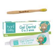 Kit Gel Dental e Escova Biodegradável