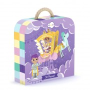 Quebra-Cabeça 3D na Maletinha - Princesa - Krooom