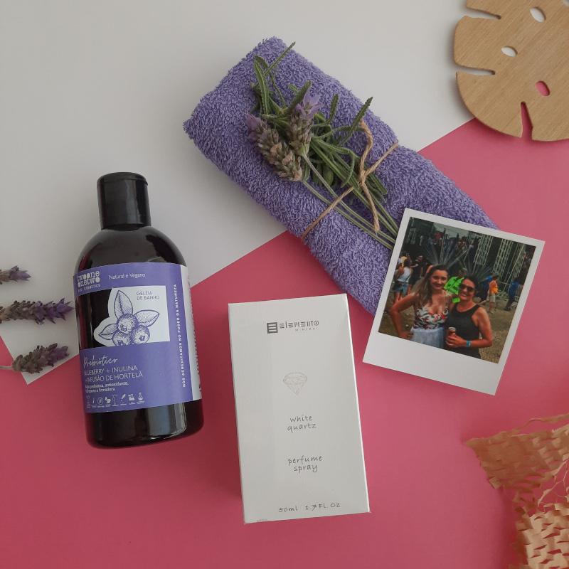 Dia das Mães - Kit Perfume e Geleia de Banho