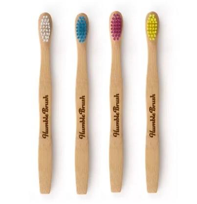 Escova Dental Intantil Biodegradável - várias cores - The Humble Co.