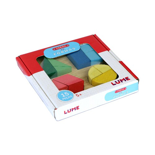 Forma as Formas - Lume Brinquedos