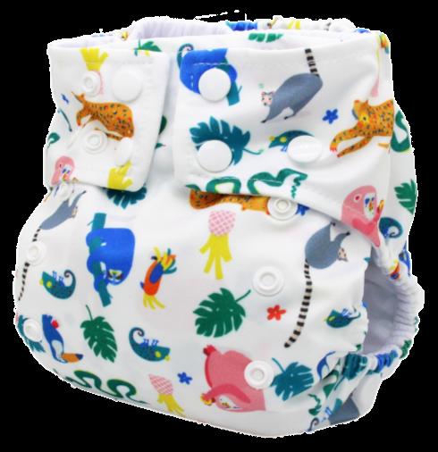 Fralda Ecológica Pul - Tropicália - Bebês Ecológicos