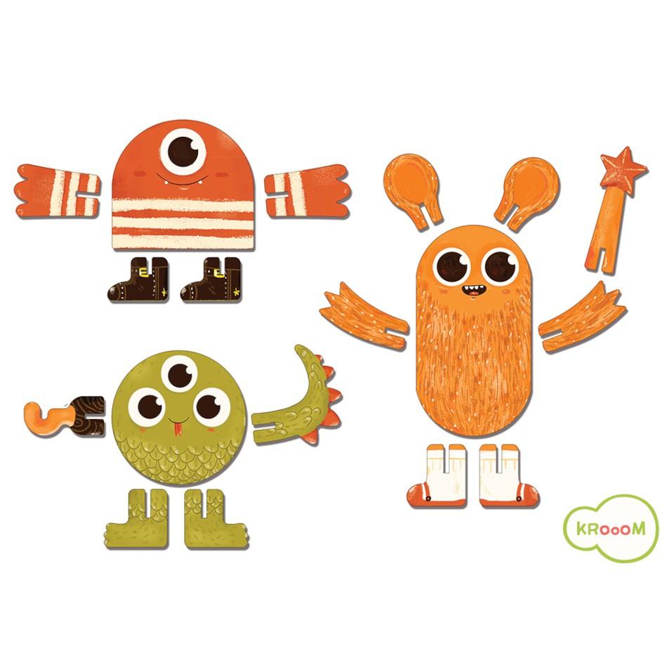 Personagem 3D - Monstros - Krooom