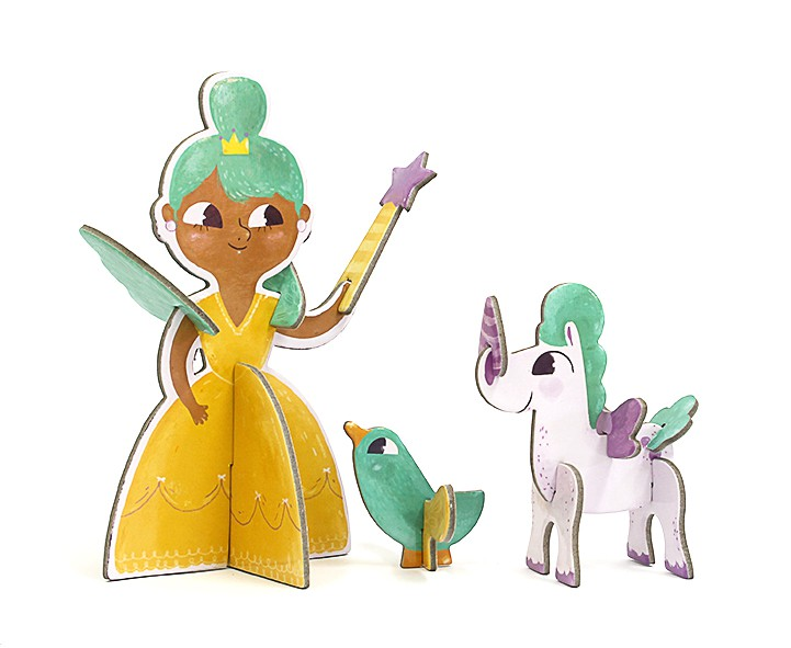 Personagem 3D - Princesa - Krooom