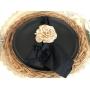 Jg.Prato Raso e Sobrenesa  2 pçs Porcelana Corona Black