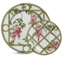Jogo Prato Raso e Sobremesa  12 pçs ceramica GazeboScalla ( jantar )