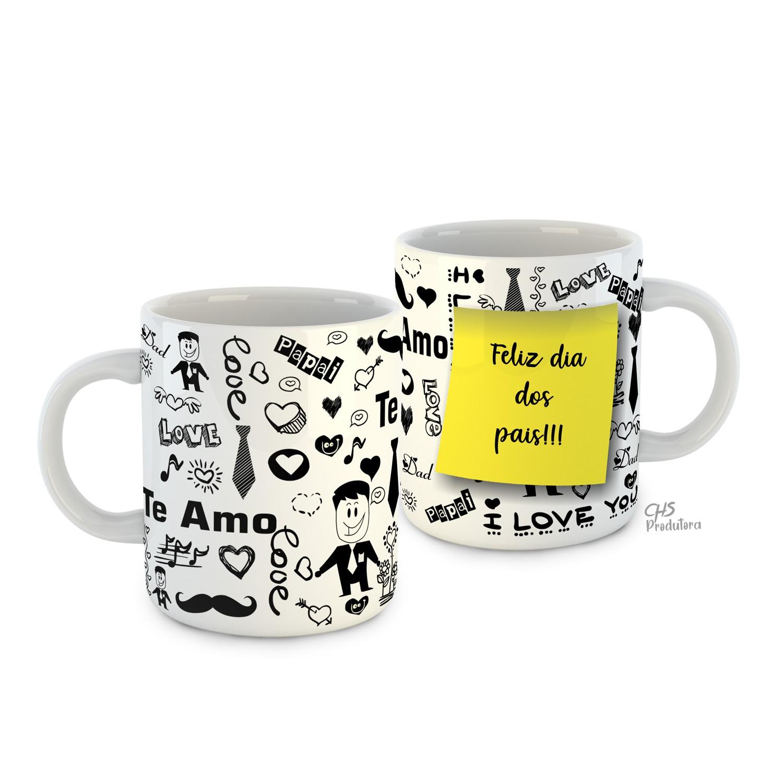Caneca Cerâmica Personalizada - Dia dos pais