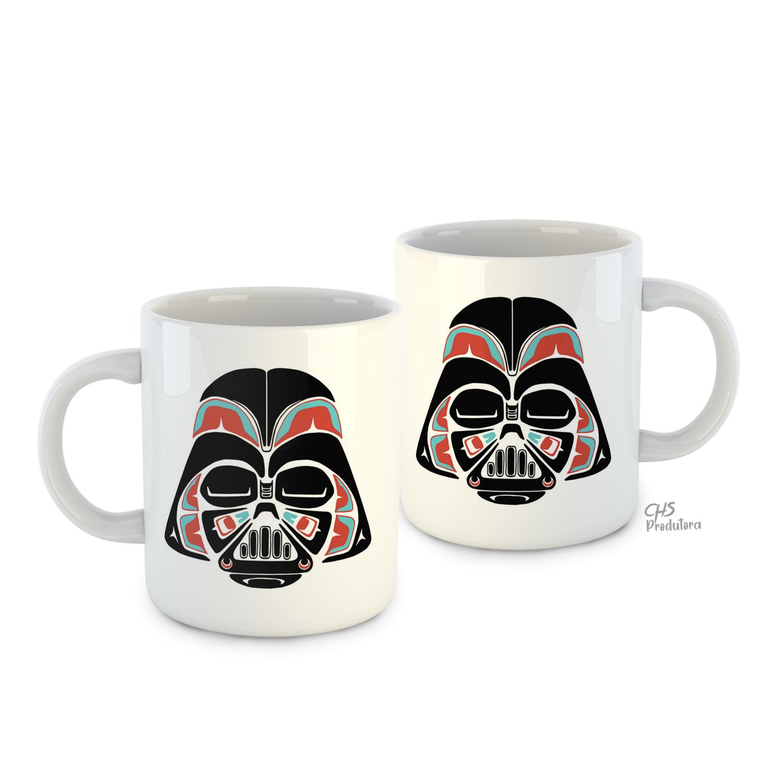 Caneca Darth Vader Branca