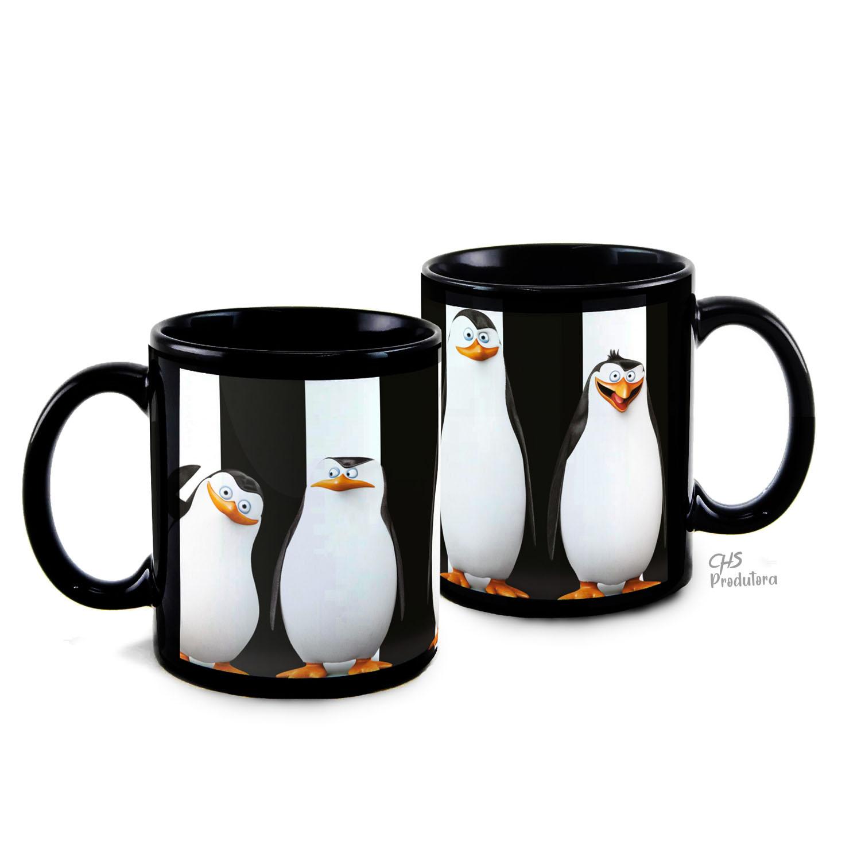 Caneca Pinguins de Madagascar