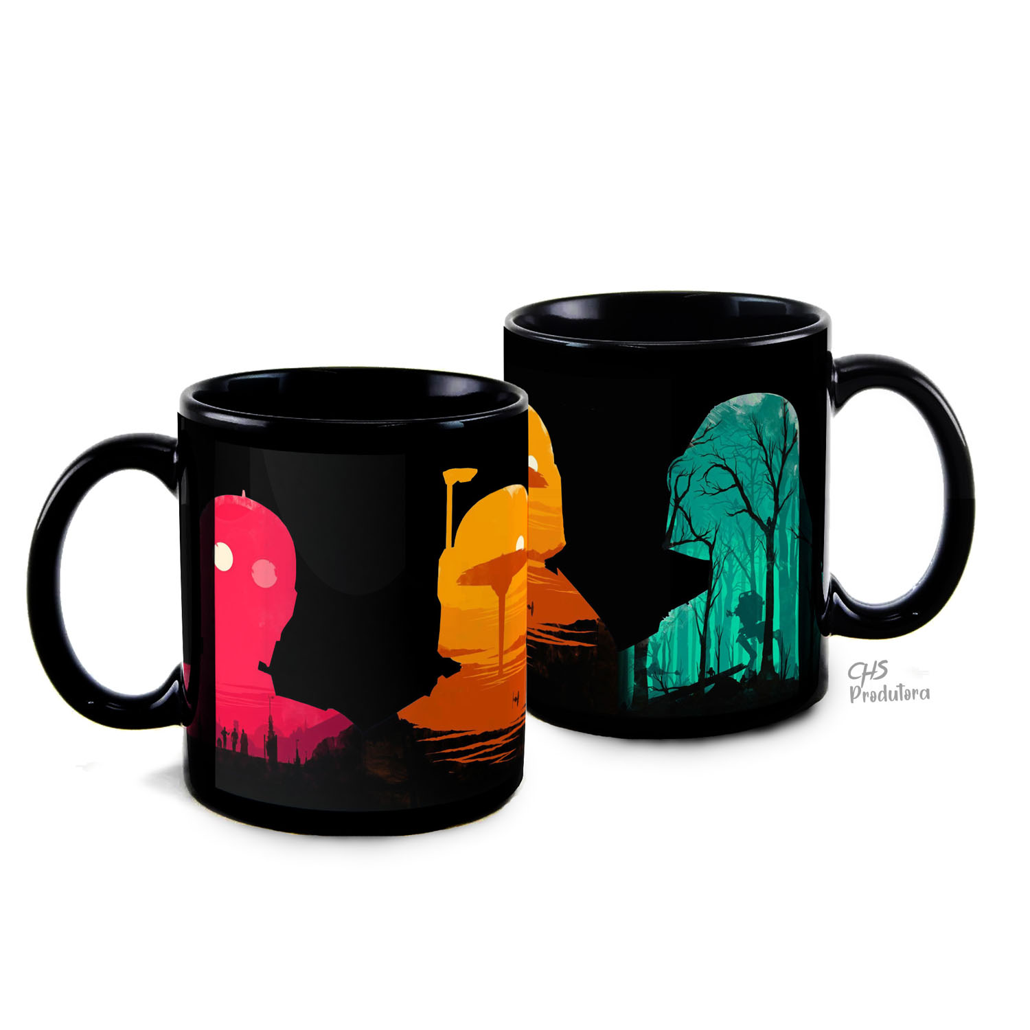Caneca Star Wars Colors