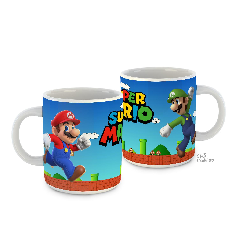 Caneca Super Mário Bros