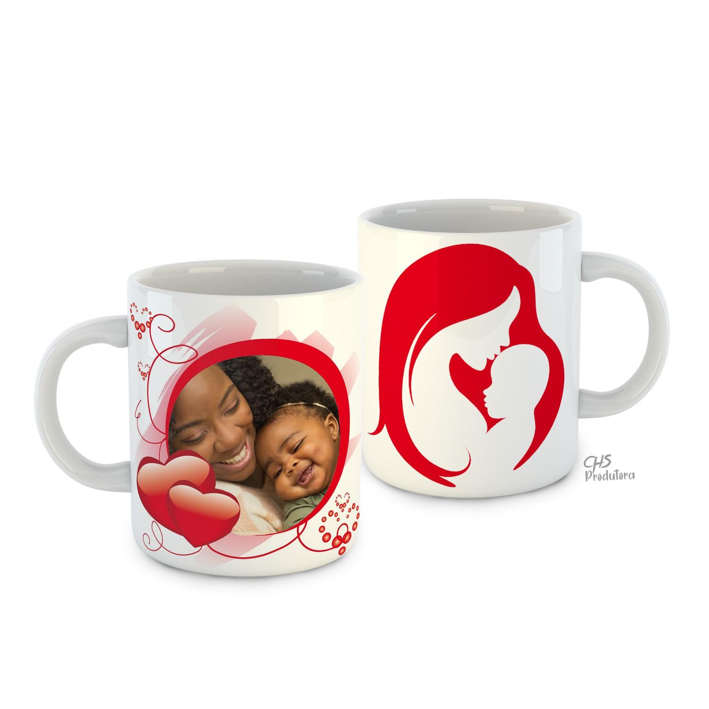 Canecas Cerâmica Personalizada - Dia das Mães