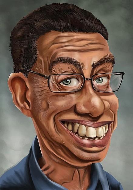 Caricatura Premium de Busto