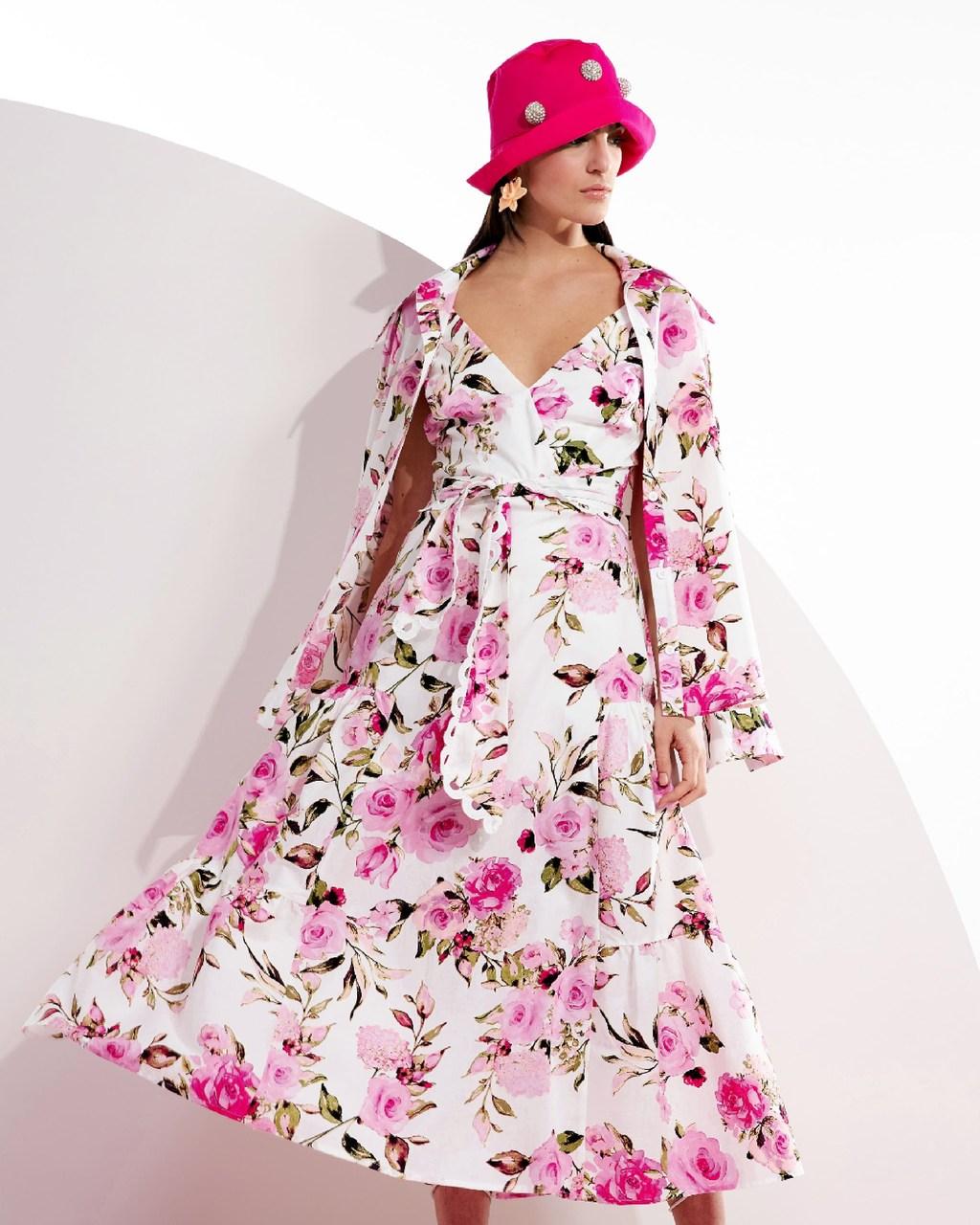 Camisa Alongada Floral