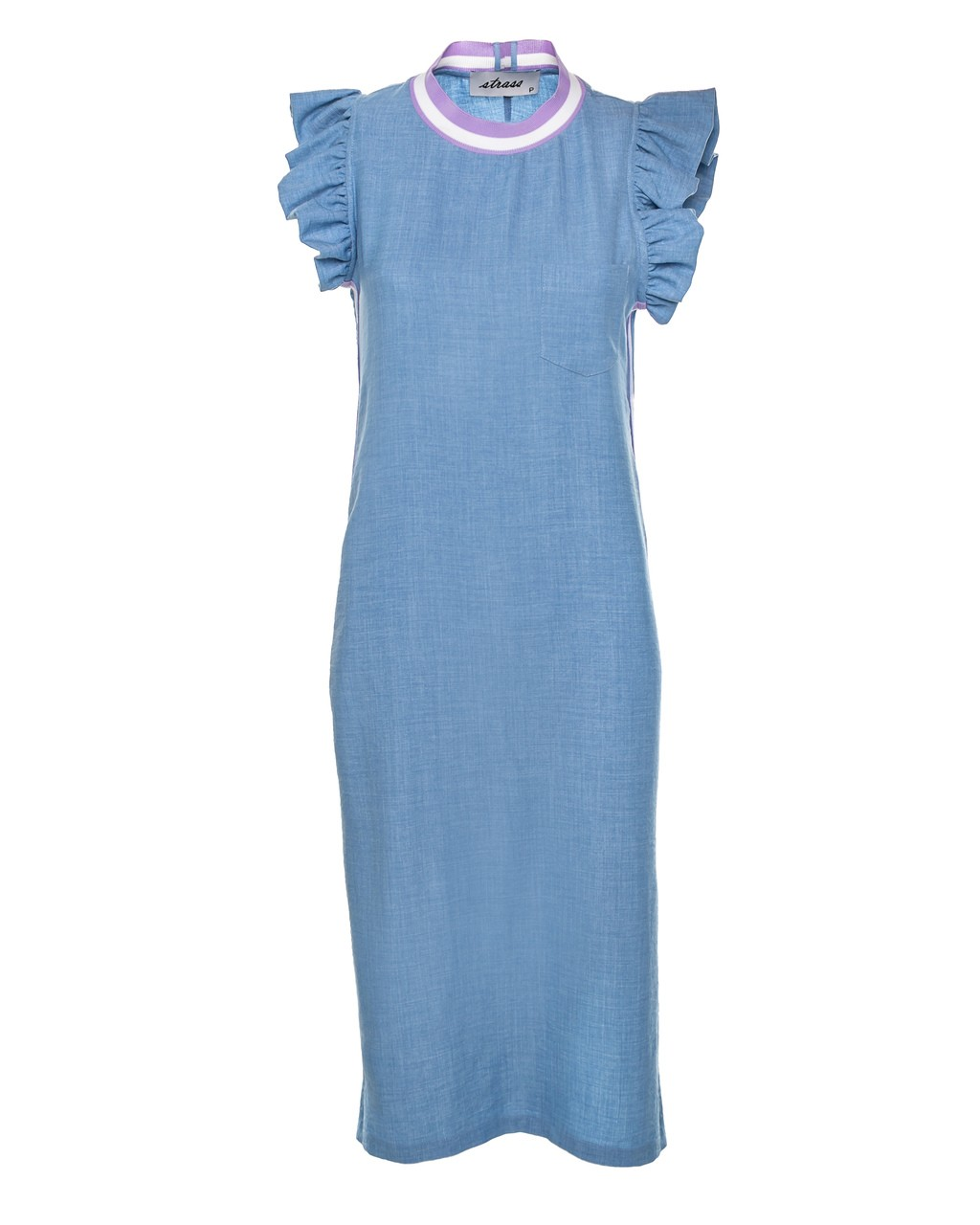 Vestido Midi com Fenda