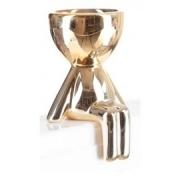 CACHEPO AP6882-2182 PLANTAS 8X9CM BOB METALIZADO-ROSE GOLD