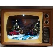 CRIANÇAS HC976 PATINANDO NA TV 30X25X25CM