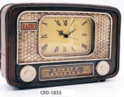 ENFEITE CRD-1833 METAL RADIO MESA 24X15X6CM