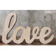 LETRAS 43835 MADEIRA LOVE BR 20X2X12,5CM