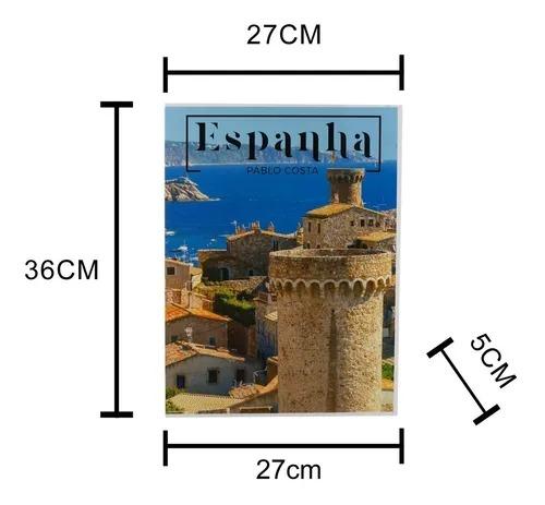 CAIXA 61210 LIVRO ESPANHA PAPEL RIG 36X27X5CM