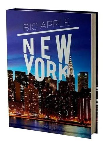 CAIXA 61212 LIVRO NEW YORK PAPEL RIG 36X27X5CM