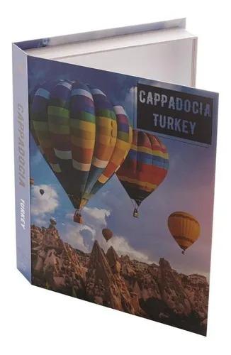 CAIXA 61270 LIVRO CAPADOCIA PAPEL RIG 30X24X5CM