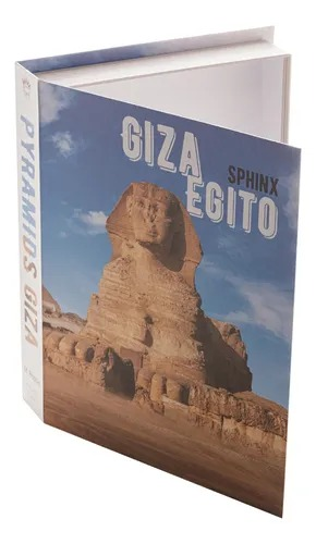 CAIXA 61277 LIVRO EGITO PAPEL RIG 30X24X5CM